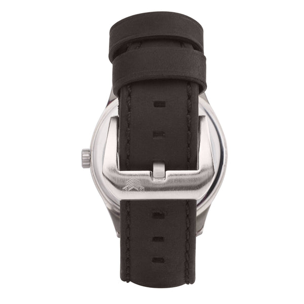 Richmond Steel - Jet Black Dial - CROFT Watches
