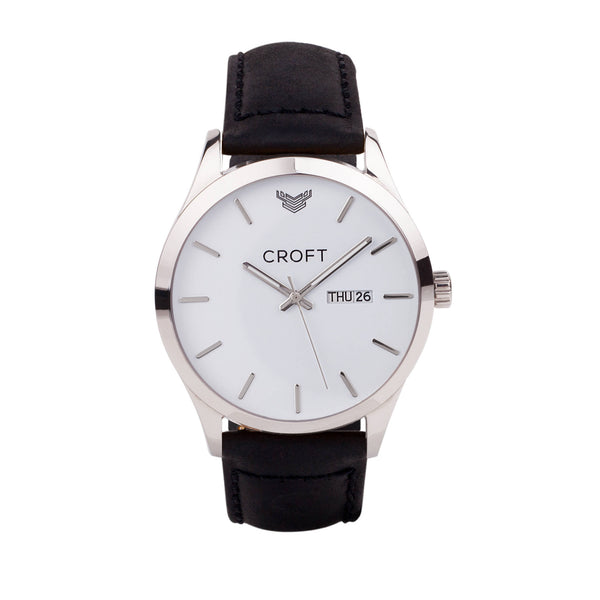 Richmond Steel - Brilliant White Dial - CROFT Watches