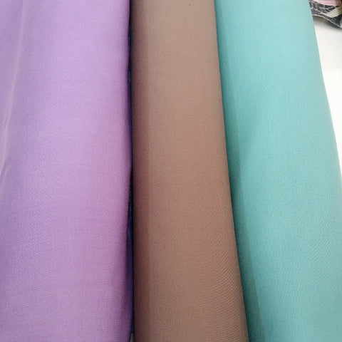 Ponte stretch fabric - available in mauve, taupe & mint