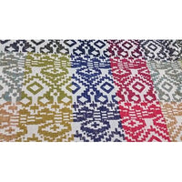 Moroccan inspired design jacquard fabric