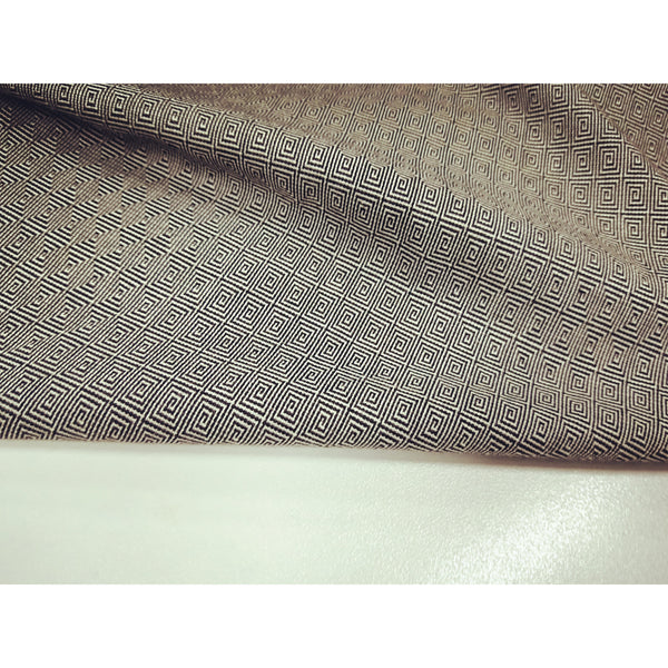 suiting fabric - grey/black
