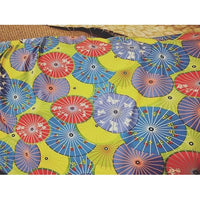 umbrella design double brushed jersey - sold in 1/2mtr