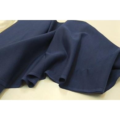 cotton/linen fabric - navy - sold by 1/2mtr