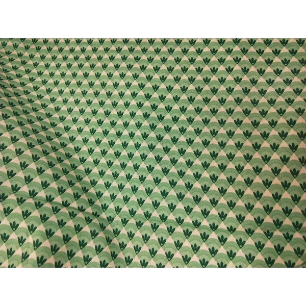Triangle design woven cotton fabric