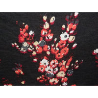 floral printed knit jersey - sold by 1/2mtr