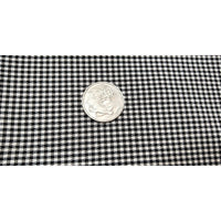 Houndstooth bengaline woven fabric - sold by 1/2mtr