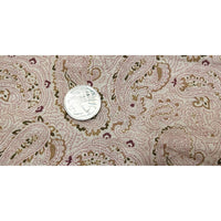 Paisley printed woven cotton fabric