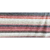striped ribbed knit - sold by 1/2mtr