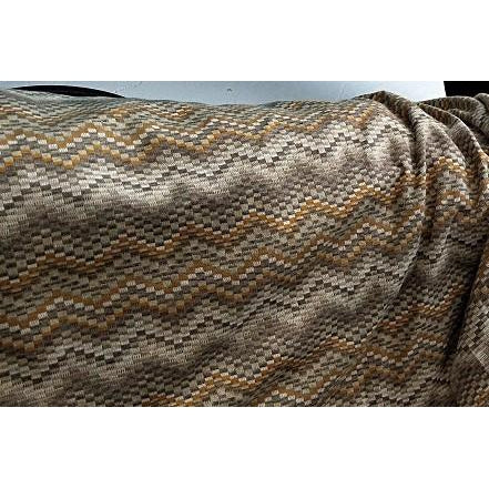 chevron design knit ponte - sold by 1/2mtr