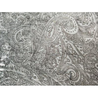 paisley design stretch corduroy - 2.45mtrs