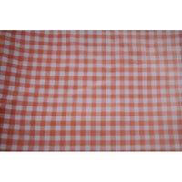 Gingham printed woven fabric - 2.10mtrs