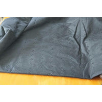 broderie anglaise black - sold by 1/2mtr