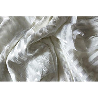 satin striped chiffon - sold by 1/2mtr