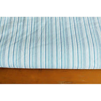striped stretch woven fabric - sold by 1/2mtr