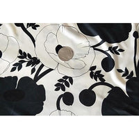 Floral printed satin jersey - sold by 1/2mtr