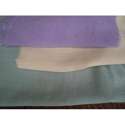 Linen shimmer fabric - available in cream/lavender/sage