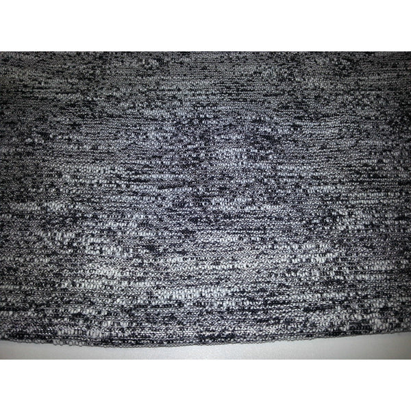 stunning woven fabric -black/white/silver