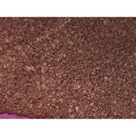 boucle knit - chocolate brown