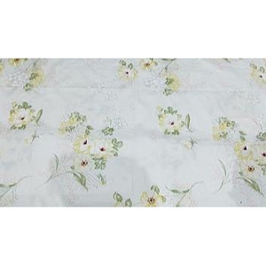 floral printed woven cotton fabric - sold by 1/2mtr
