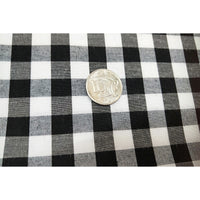 "gingham 1"" black/white"
