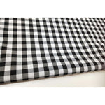 "gingham 1/2"" black/white"
