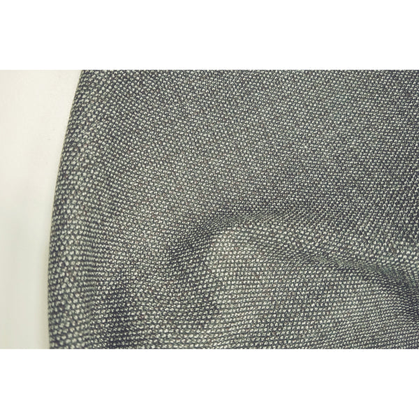 wool blend suiting - dark grey/black