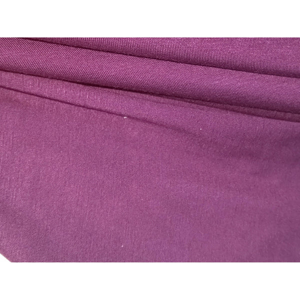 viscose/spandex knit jersey - plum/red