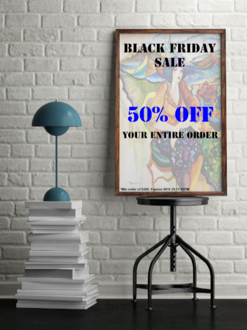 Black Friday 2016 Fine Arts Sale | Yosi Gol Art Gallery and Publishing