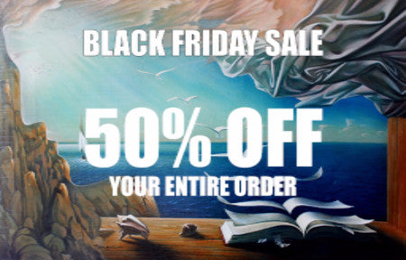 Black Friday FIne Art Sale