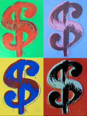 Andy Warhol- Dollar Sign