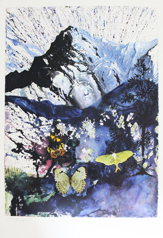 "Salvador Dali- Original Lithograph ""Alpes"""