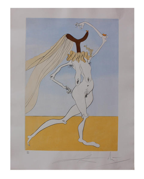 Salvador Dali- Nude with Veils