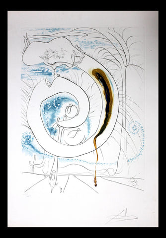 Salvador Dali- The Visceral Circle of the Cosmos