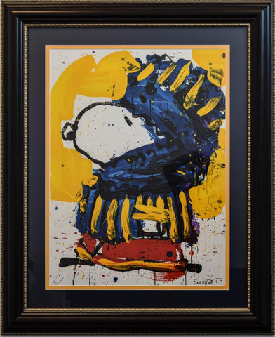 "Tom Everhart- Lithograph ""March Vogue"""