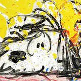 "Tom Everhart- Hand Pulled Original Lithograph ""Blow Dry"""