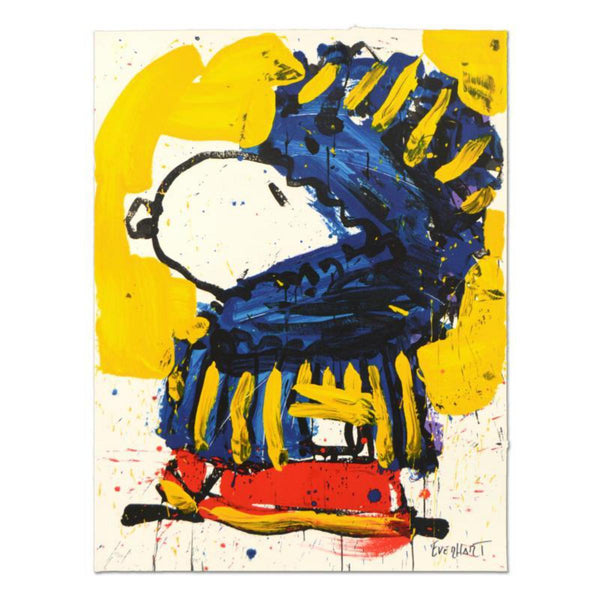 "Tom Everhart- Hand Pulled Original Lithograph ""March Vogue"""