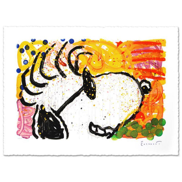 "Tom Everhart- Hand Pulled Original Lithograph ""Pop Star"""