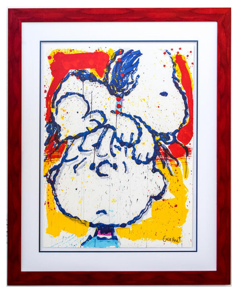 "Tom Everhart- Hand Pulled Original Lithograph ""Hair Club for Dogs"""