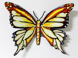 "Patricia Govezensky- Original Painting on Cutout Steel ""Butterfly CXCIX"""