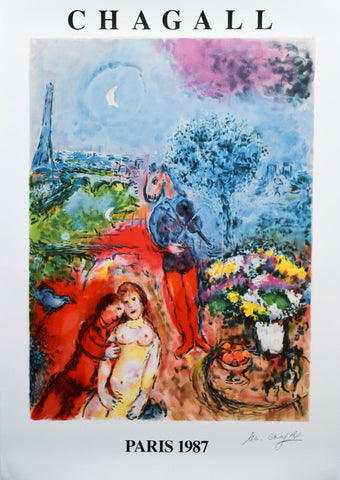 Marc Chagall- Offset Lithograph