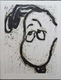 "Tom Everhart- Hand Pulled Original Lithograph ""I Can't Believe my Ears, Darling"""
