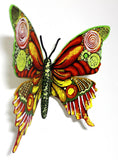 "Patricia Govezensky- Original Painting on Cutout Steel ""Butterfly CCXXIX"""