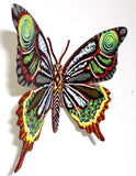 "Patricia Govezensky- Original Painting on Cutout Steel ""Butterfly CCXXXI"""