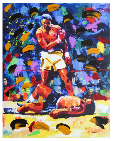 "Igor Semeko- Mixed Media ""Ali Over Liston"""