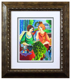 "Patricia Govezensky- Original Watercolor ""Viviana & Aitana"""