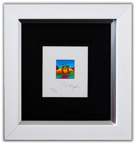 "Peter Max- Original Lithograph ""Sail Profile (mini)"""
