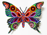 "Patricia Govezensky- Original Painting on Cutout Steel ""Butterfly CCXLIV"""
