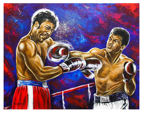 "Dimitry Turchinsky- Original Oil on Canvas ""Fight On"""