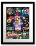 "Charles Fazzino- 3D Construction Silkscreen giclee on paper ""STAR TREK: THE BEGINNING"""