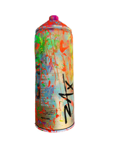 "E.M. Zax- HAND PAINTED ARTIST USED SPRAY CAN  ""SPRAY CAN"""